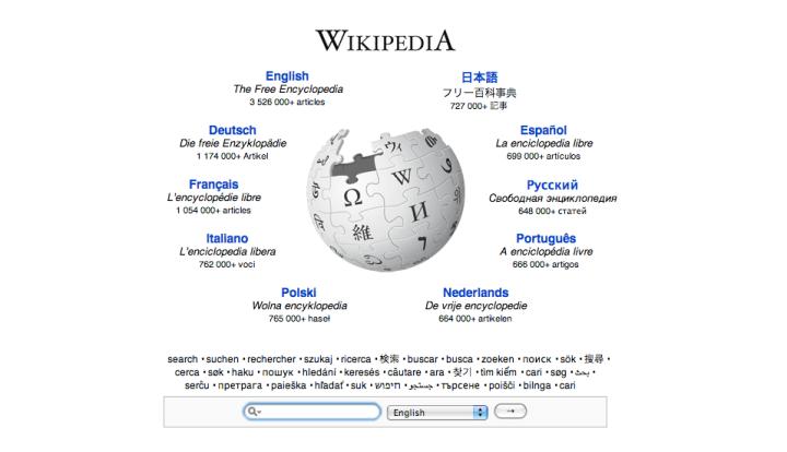 It's Wikipedia's 10 Year Anniversary