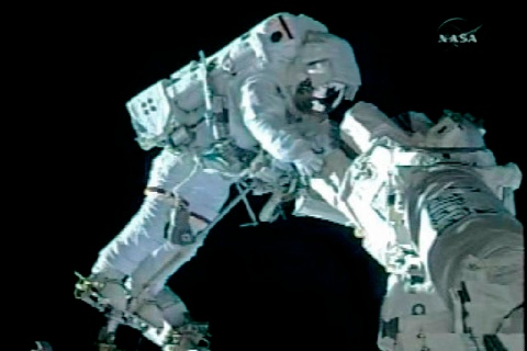 space station outer space astronaut