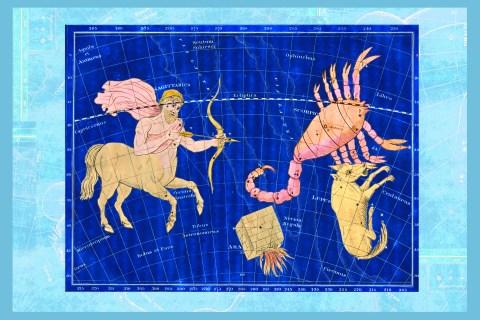 Scorpio, Sagittarius and Lupus #1