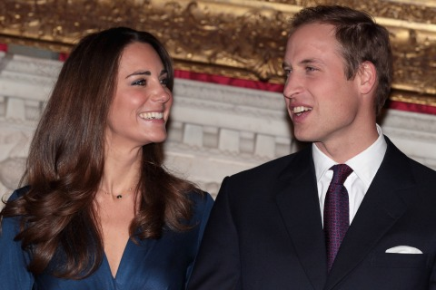 Clarence House Announce The Engagement Of Prince William To Kate Middleton