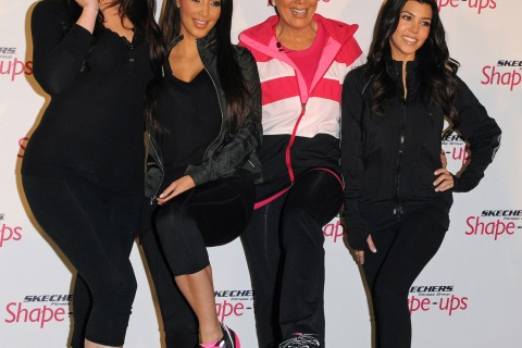 Skechers Shaping Up With The Kardashians Challenge - Press Conference