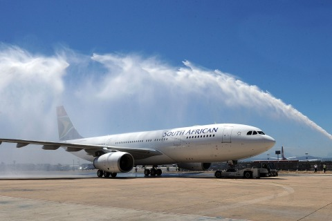 Zuma Receives The First South Africa Airways Airbus A330-200