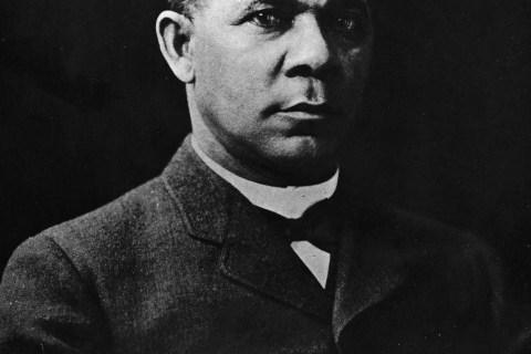 Portrait Of Booker T. Washington