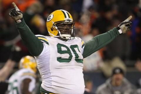 Green Bay Packers defensive tackle B.J. Raji