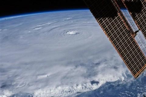 NASA handout image of Hurricane Earl