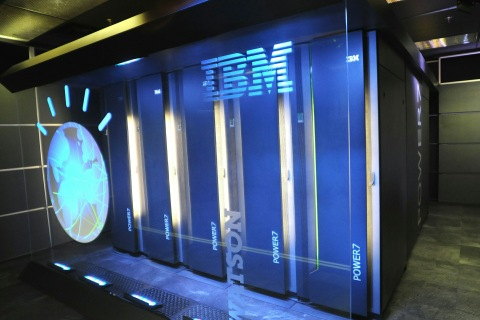This photo courtesy of IBM shows Watson