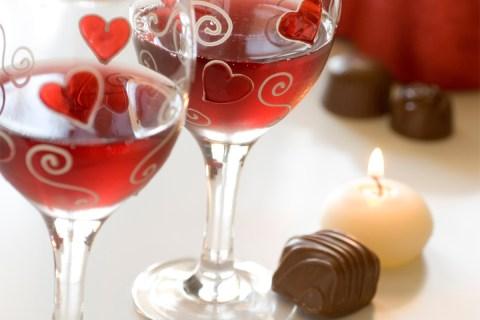 wine chocolate