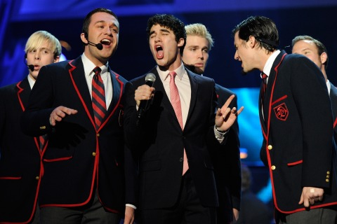 Dalton Warblers on stage