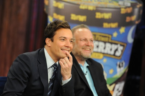 """Jimmy Fallon And Ben & Jerry's Announce New """"Late Night Snack"""" Flavor"""