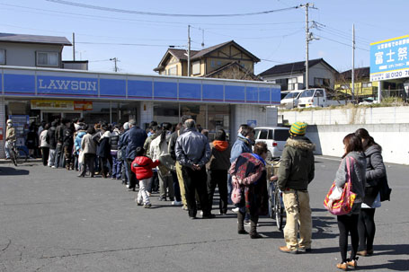 Death Toll From Japan Quake Nears 500; Radioactive Gas Released