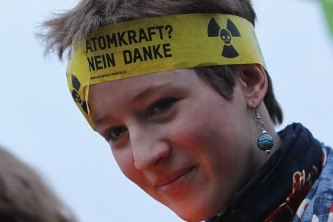 Anti-Nuclear Power Protestors
