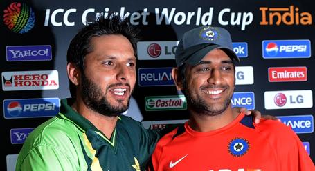 Pakistan cricket captain Shahid Afridi