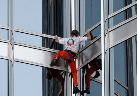 Dubai Spider-Man