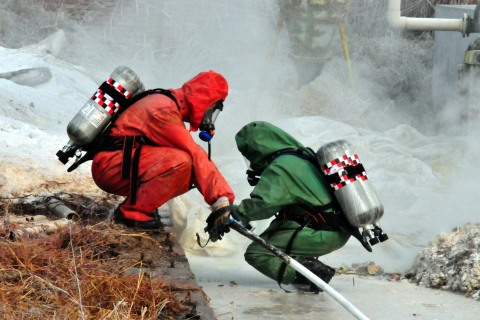 Chemical Leak In Henan Paper Factory