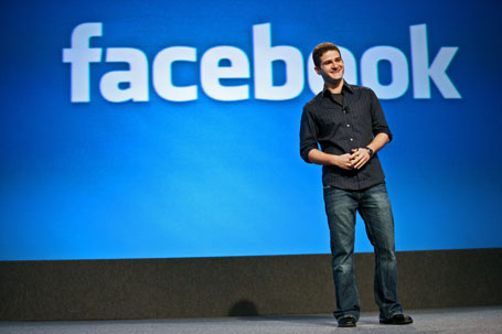 Dustin Moskovitz, co-founder of Facebook Inc., speaks at the