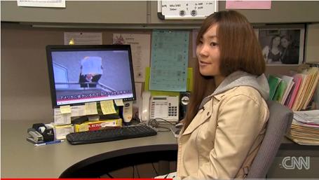Earthquake video girl