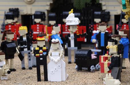 Legoland Windsor Launches Their Royal Wedding Diorama