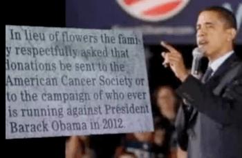 Anti Obama Obituary