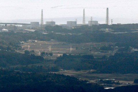 Fukushima Nuclear Plant reactor number 1 Daiichi facility is seen in Fukushima Prefecture, northeastern Japan