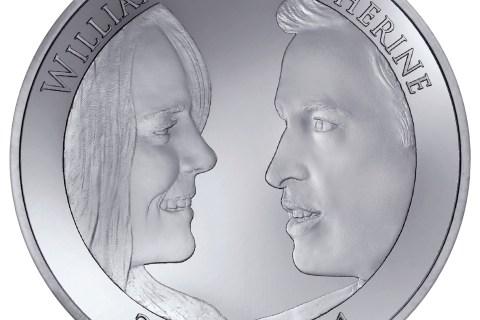 The Royal Mint's latest Royal Wedding coin