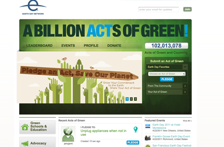 Billion Acts of Green