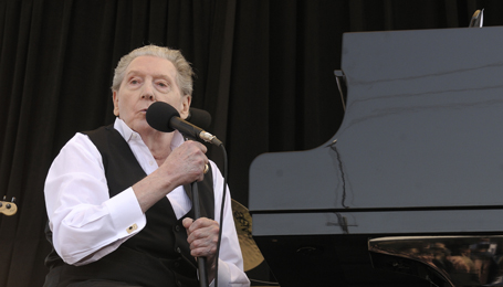 Jerry Lee Lewis Performs At Jack White's Third Man Records