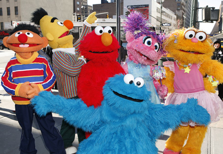"Street Renaming To Celebrate The 30th Anniversary Of ""Sesame Street Live"""