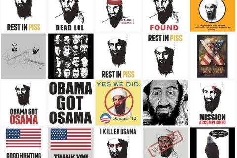 anti-Osama t-shirts