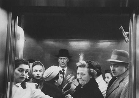 Elevator in a Madison Avenue high rise o