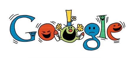 Mr. Happy Google Doodle