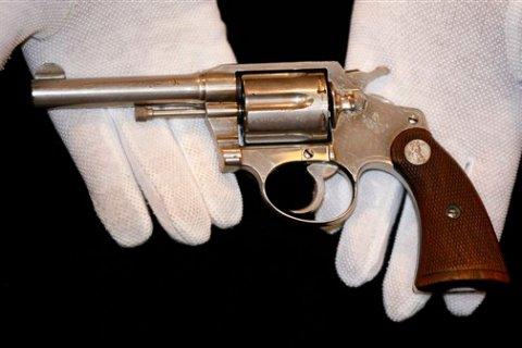 Britain Al Capone Gun Auction