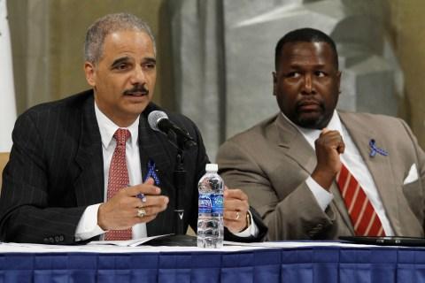 Holder Hosts Discussion On Drug Endangered Children