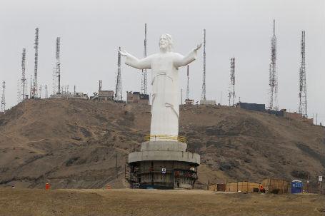 Jesus Statue Peru