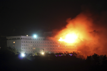 Kabul Hotel Attacked by Taliban