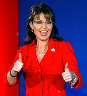 Former Alaska Governor and 2008 Republican Vice Presidential candidate Sarah Palin speaks at the 2010 Southern Republican Leadership