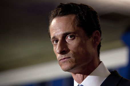 Representative Anthony Weiner Holds News Conference