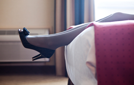 Business Woman Heels