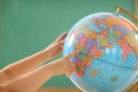 Geography, globe