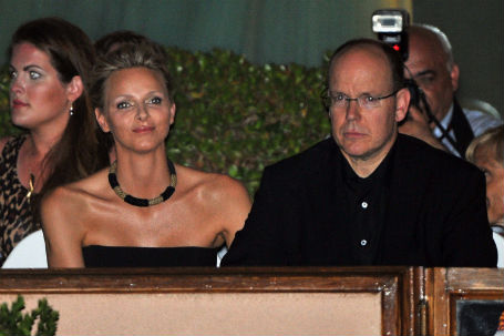 Charlene and Albert of Monaco