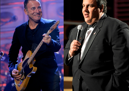 Springsteen and Christie