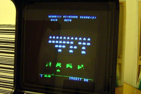 Space Invader Cabinet