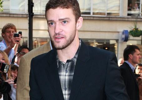 Justin Timberlake Sighting in London - October 8, 2010