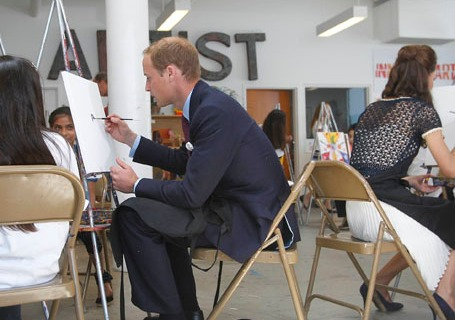 The Duke And Duchess Of Cambridge Attend BAFTA Inner City Arts Event