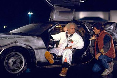 Back to the Future': How Exactly Did Marty McFly and Doc Brown Meet?    TIME.com