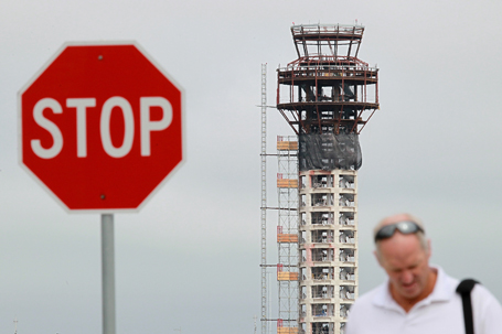 Construction Stops On New Oakland Control Tower After FAA Funding Is Halted