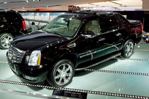 The 2007 Cadillac Escalade EXT