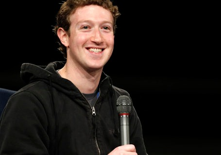 FaceBook CEO Mark Zuckerberg At Innovation Conference