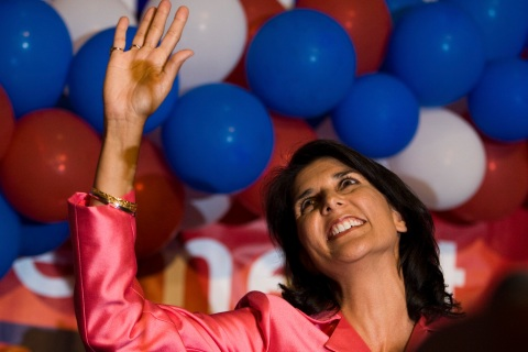 It's a great day for Nikki Haley.