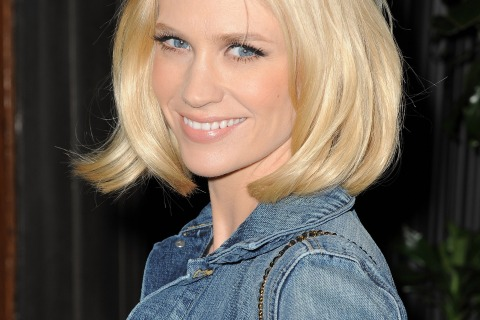 Actress January Jones, photographed in Los Angeles.