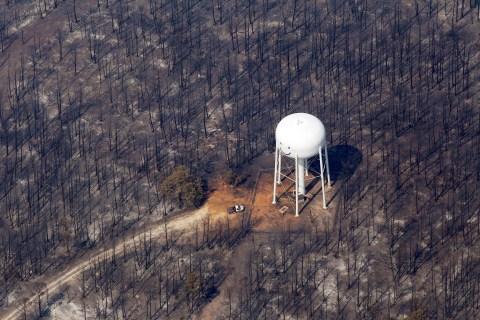 School re-opens in fire-ravaged Bastrop.